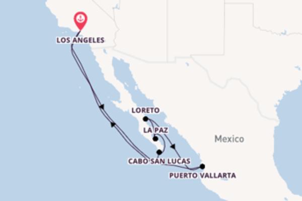 11-daagse cruise naar Cabo San Lucas