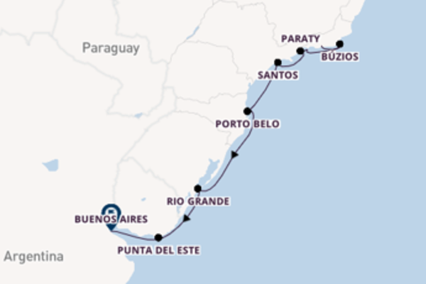 11 day trip to Buenos Aires from Rio de Janeiro