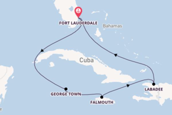 Vaar met de Independence of the Seas naar Fort Lauderdale