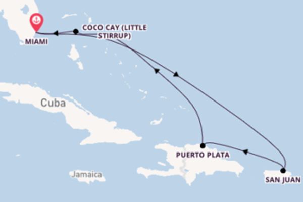 Surpreendente cruzeiro com a Royal Caribbean