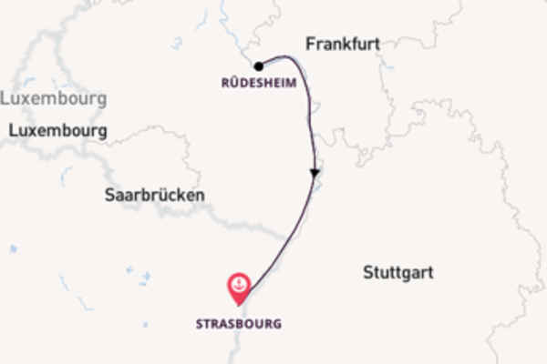 Memorable expedition from Strasbourg with CroisiEurope