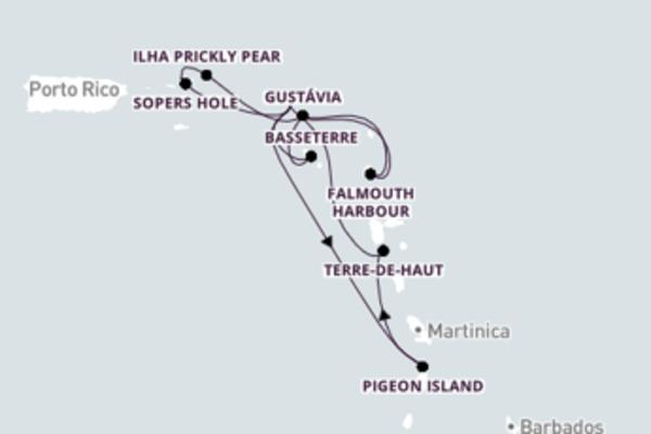 Navegue a bordo do Wind Surf em 15 dias