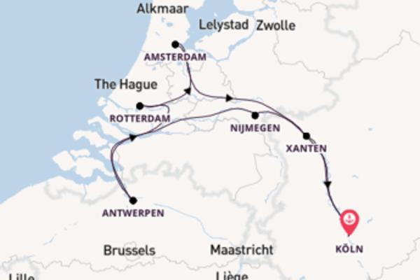 Silvesterreise ab Köln