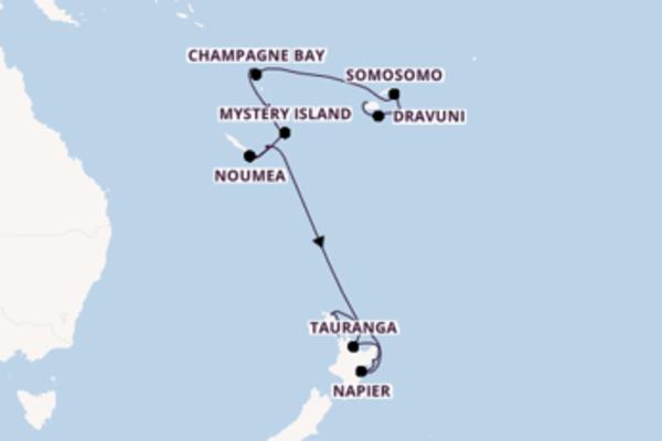 Lautoka, Fiji und Auckland, Neuseeland erleben