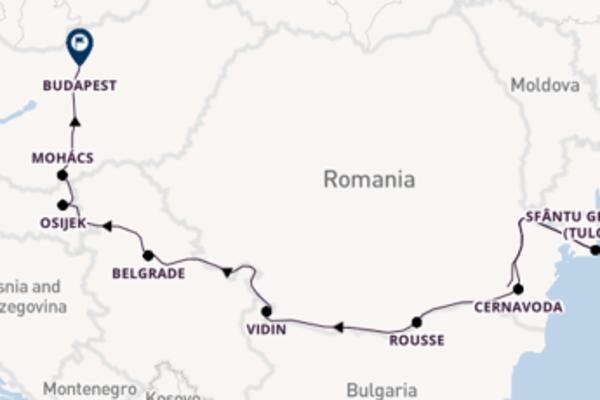 Sailing from Bucharest via Vidin