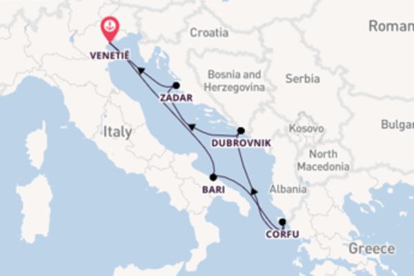 Met de AIDAblu Kroatië & Griekenland ontdekken
