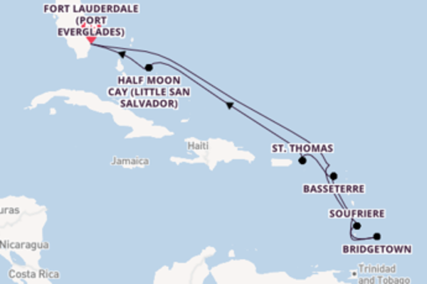 Trip with Holland America Line from Fort Lauderdale