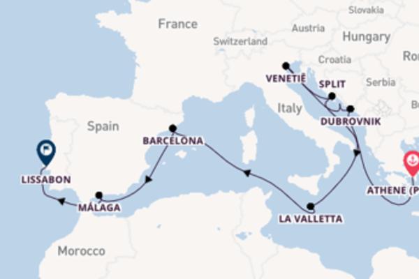 16-daagse reis naar Lissabon