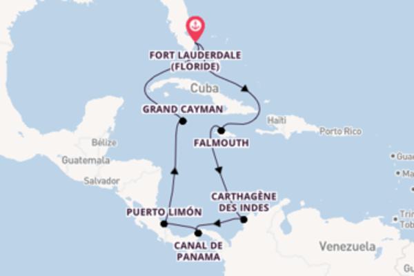 Cristobal et une belle croisière depuis Fort Lauderdale