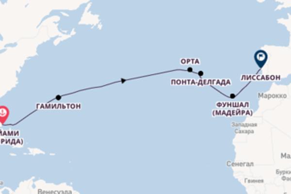 Майами (Флорида), Грэйт Стеррап Кей, Лиссабон с Seven Seas Voyager