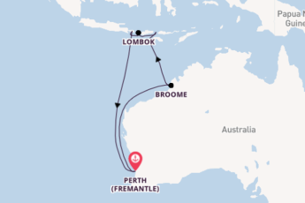 Cruising from Perth (Fremantle) with the Pacific Explorer