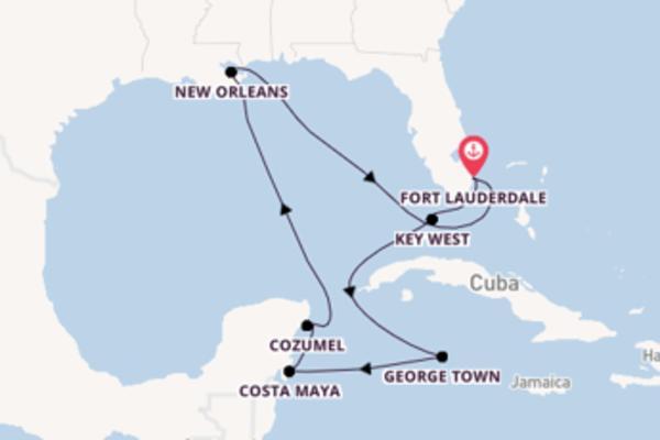 13-daagse cruise met de Celebrity Equinox vanuit Fort Lauderdale