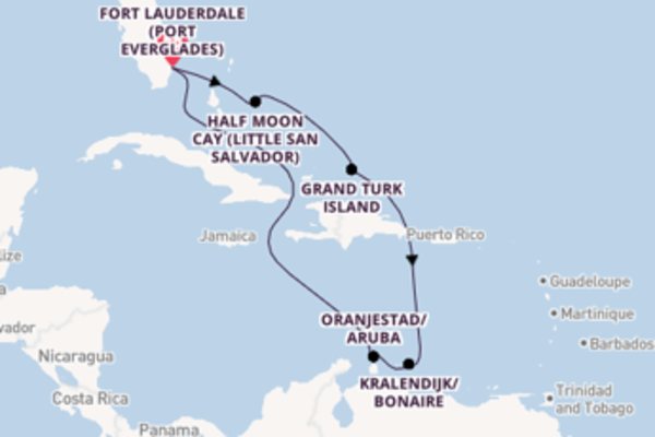 Voyage with Carnival Cruise Lines from Fort Lauderdale (Port Everglades)