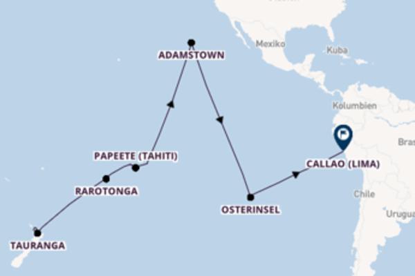 Südseezauber zwischen Neuseeland & Südamerika