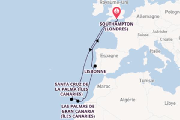 Somptueuse balade de 13 jours à bord du bateau Queen Victoria