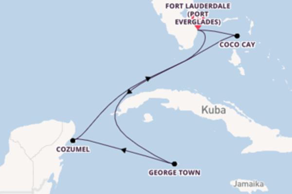 Einmalige Kreuzfahrt mit der Odyssey of the Seas