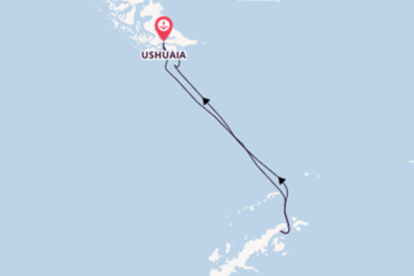 12 day expedition from Ushuaia
