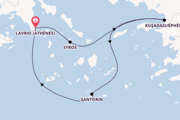 4 jours pour découvrir Syros au départ de Lavrio (Athènes)