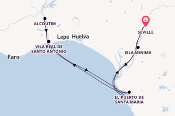 8 day cruise from Seville