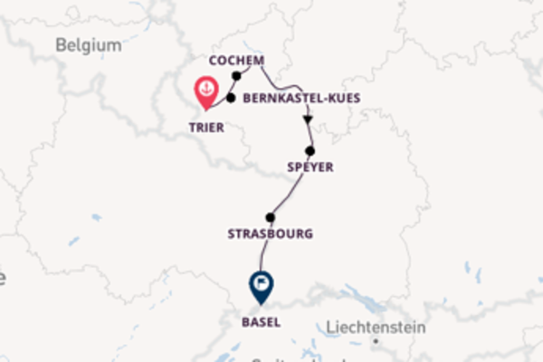Expedition with Viking River Cruises from Trier