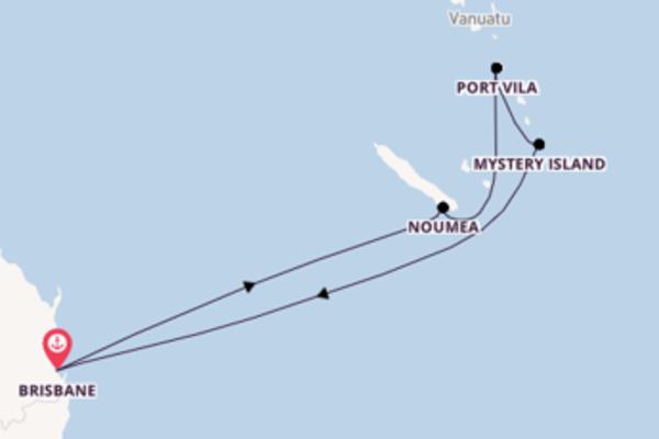 Von Brisbane über Port Vila in 9 Tagen