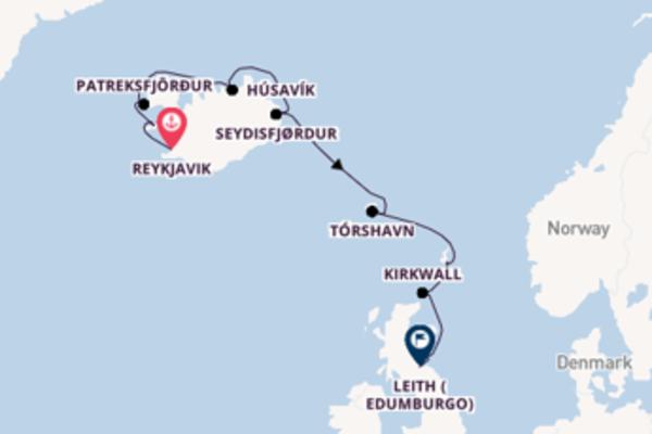 Scopri Kirkwall arrivando a Leith (Edumburgo)