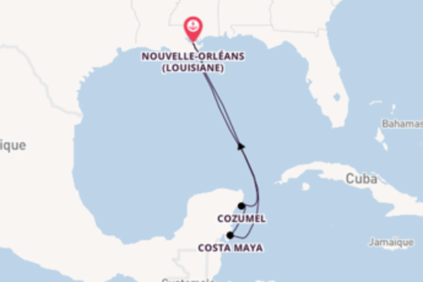Explorez avec Royal Caribbean, la destination: Cozumel