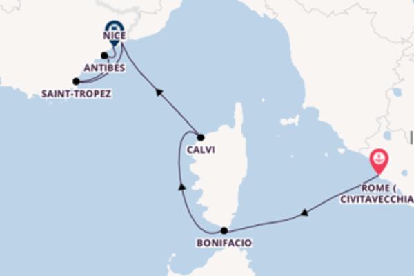 Contemplez avec SeaDream Yacht Club, la destination: Monte-Carlo