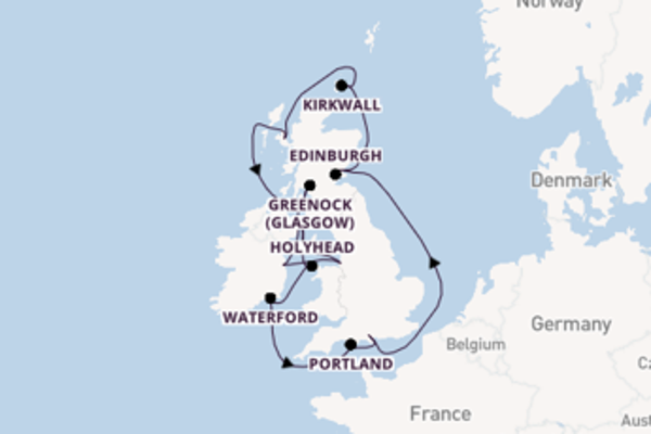 Journey with Regent Seven Seas Cruises from Southampton (London)