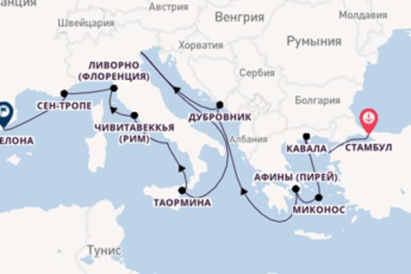 Захватывающий вояж с Oceania Cruises