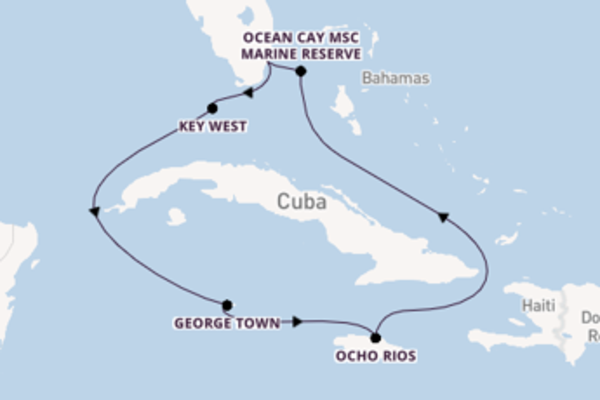 Cruising from Miami via George Town