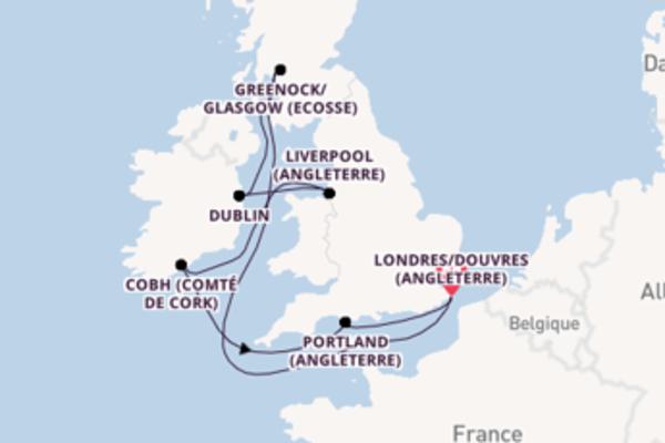 Passionante virée de 8 jours depuis Londres/Douvres (Angleterre)