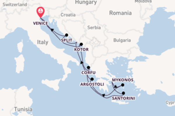 10 day expedition from Venice