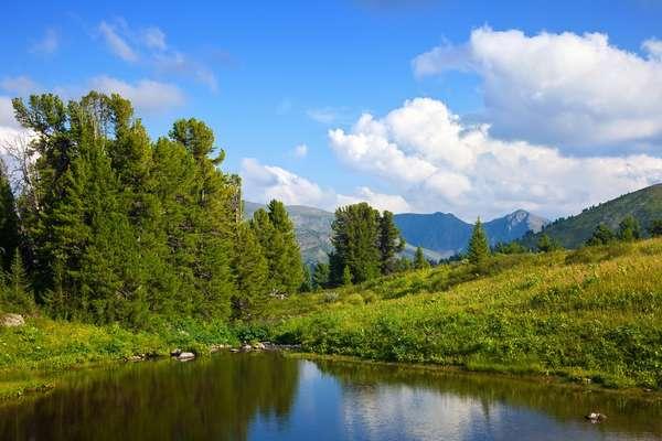 Piltun Lagune (Sachalin), Russland