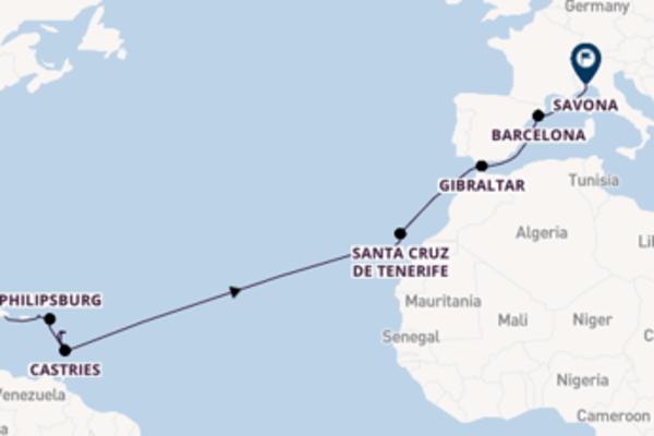 Cruise met Costa Cruises naar het pittoreske Savona