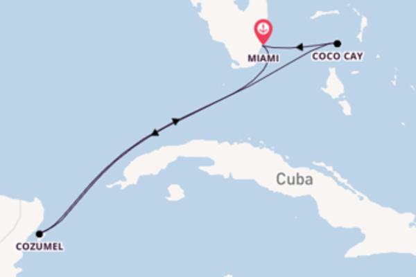 Lasciati conquistare da Cozumel partendo da Miami