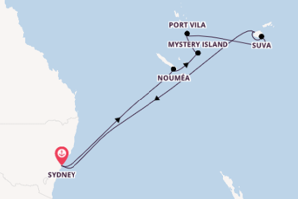 Douce croisière avec Royal Caribbean pendant 13 jours