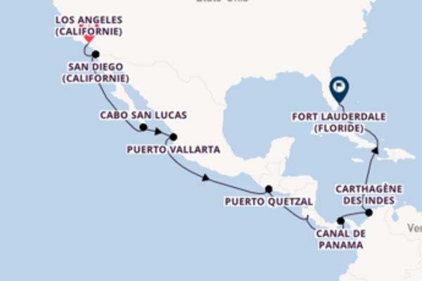 Colón et une charmante croisière depuis Los Angeles (Californie)