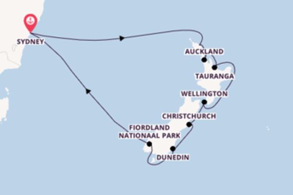 Cruise met Princess Cruises naar het charmante Sydney
