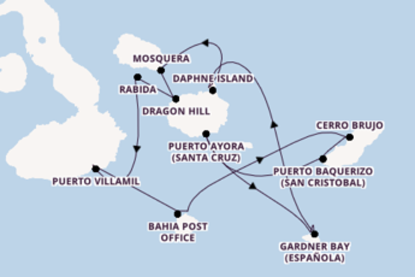 A bordo di Celebrity Xploration fino a Isole Galapagos, Ecuador