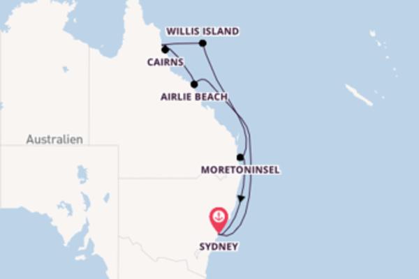 Fantastische Reise ab Sydney