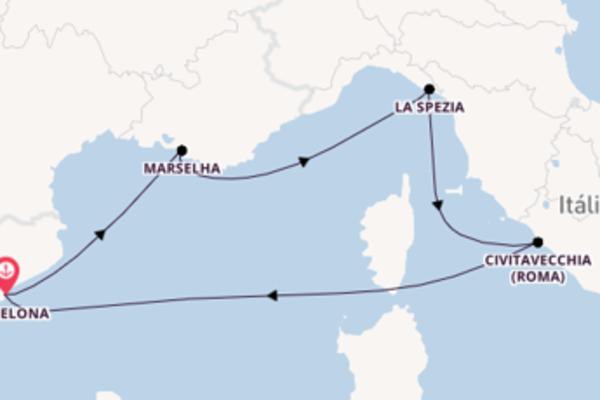 Navegando por 6 dias a bordo do Harmony of the Seas