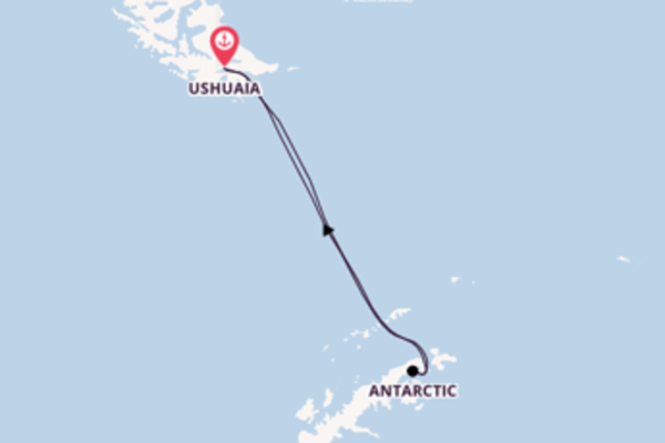 Voyage with Viking Ocean Cruises from Ushuaia