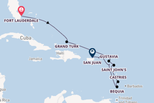 Lasciati affascinare da Gustavia arrivando a San Juan
