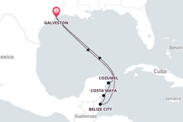 Majestic Belize City Journey with Royal Caribbean