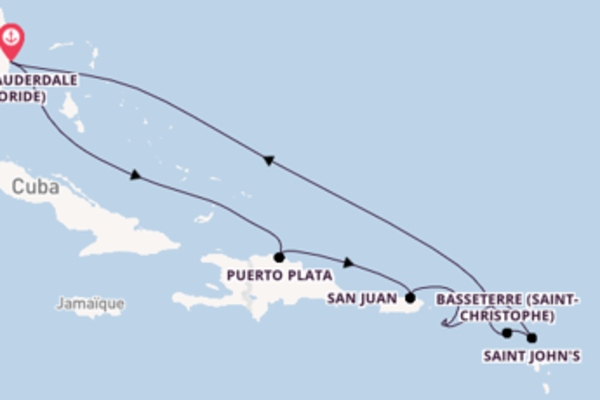 Merveilleuse croisière avec Celebrity Cruises pendant 11 jours