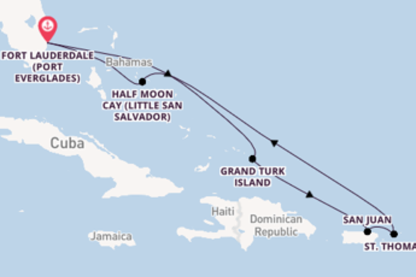 Voyage with Holland America Line from Fort Lauderdale