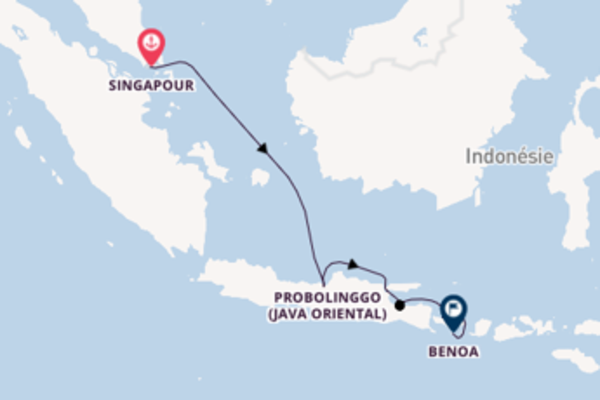 Merveilleuse balade de 8 jours pour découvrir Probolinggo (Java oriental)