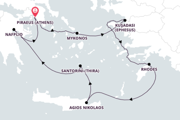 8-Day Expedition to Spectacular Mykonos