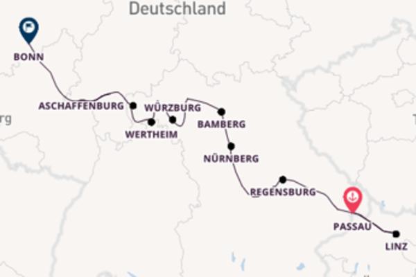 Einmalige Reise nach Bonn